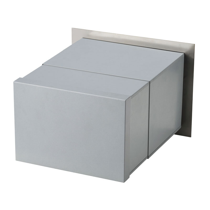Milkcan-1861-STS-Palazzo-front-open-letterbox-stainless-steel-mailbox-back-800px