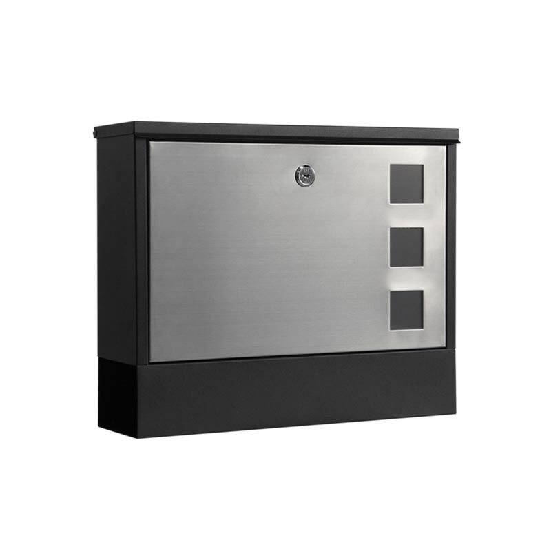 Milkcan-858BLK-Bristol-stainless-black-wall-letterbox-main-800px