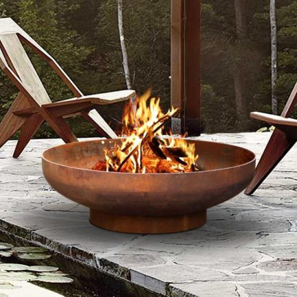 Milkcan-Phoenix-80-1CR-Fire-pits-outdoor-rust-steel-planter-bowl-main-800px