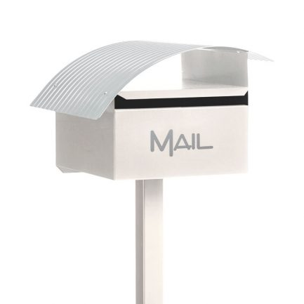 Milkcan-065-Wave-box-post-letterbox-galvanised-steel-freestanding-cream-main-800px