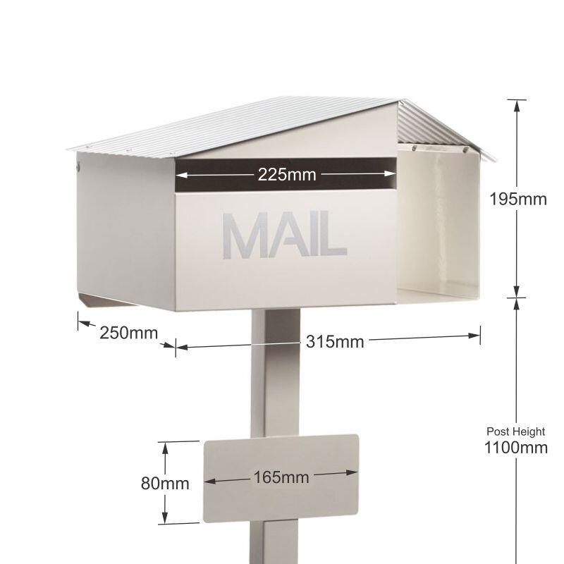 Milkcan-815-Oak-freestanding-box-post-letterbox-cream-dims-800px