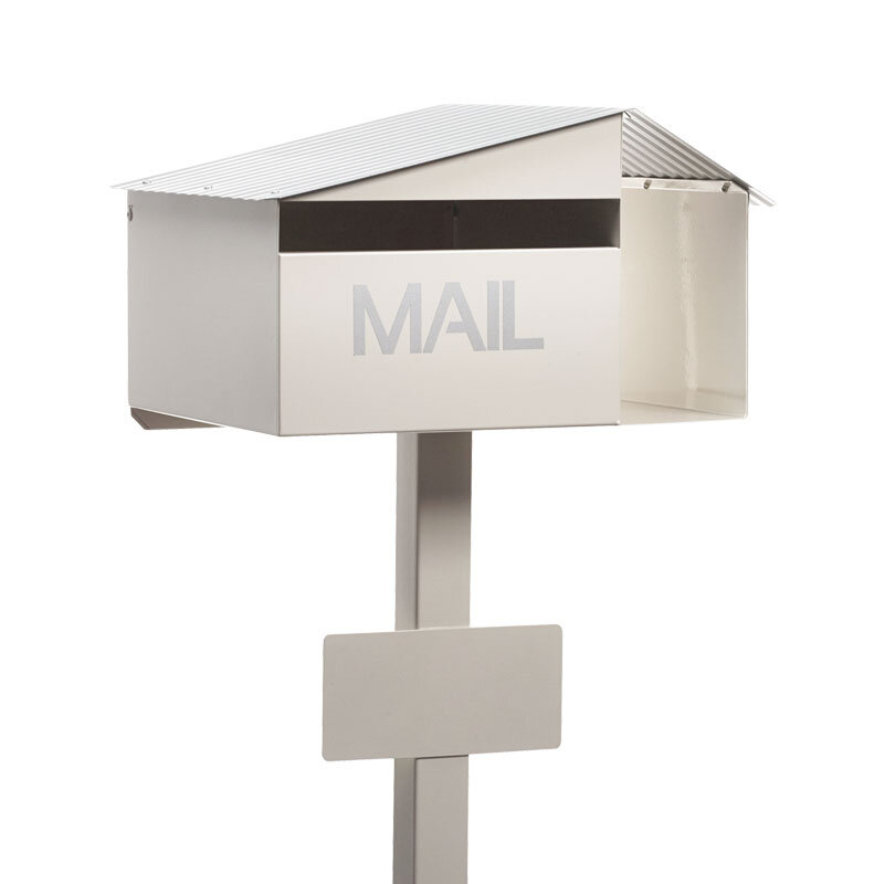Milkcan-815-Oak-freestanding-box-post-letterbox-cream-main-800px