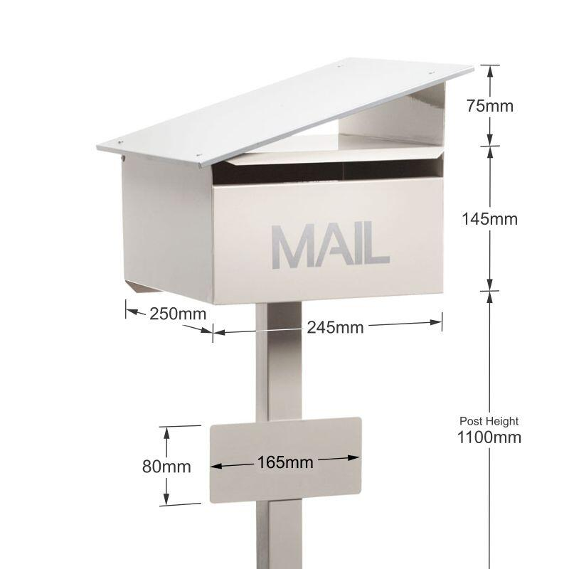 Milkcan-835-Sleek-freestanding-box-post-letterbox-cream-dims-800px