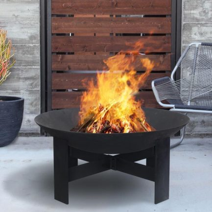 Milkcan-F6070B-sierra-black-fire-pit-bowl-steel-main-800px