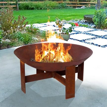Milkcan-F6070R-sierra-rust-fire-pit-bowl-steel-main-800px