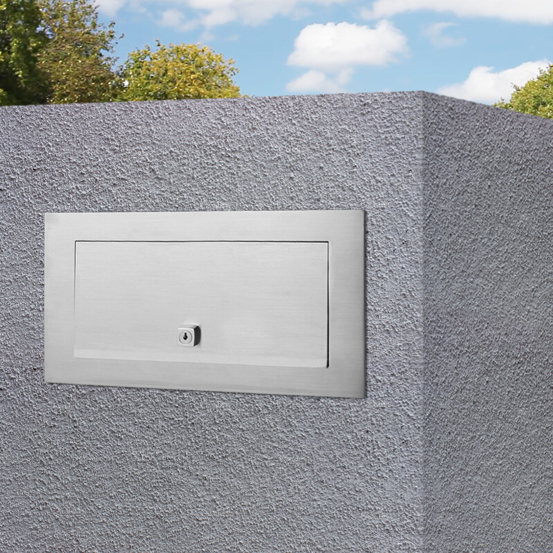 Milkcan-1821STS-Palazzo-letterbox-A4-stainless-steel-brick-mailbox-back-hs1-800px