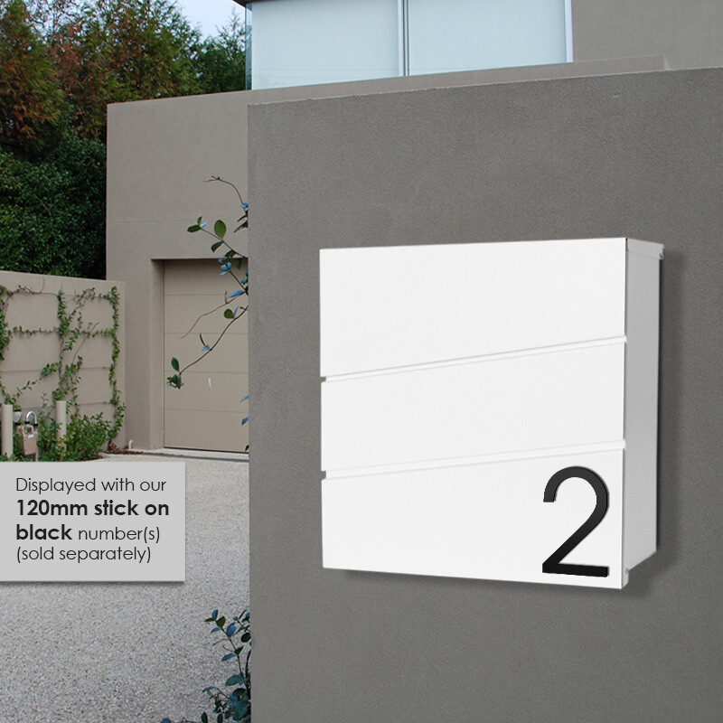Milkcan-8592-Kensington-wallbox-letterbox-front-open-white-hs2-800px