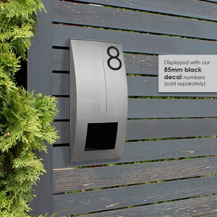 Milkcan-2361STS-Modena-fence-letterbox-stainless-black-hs1-800px