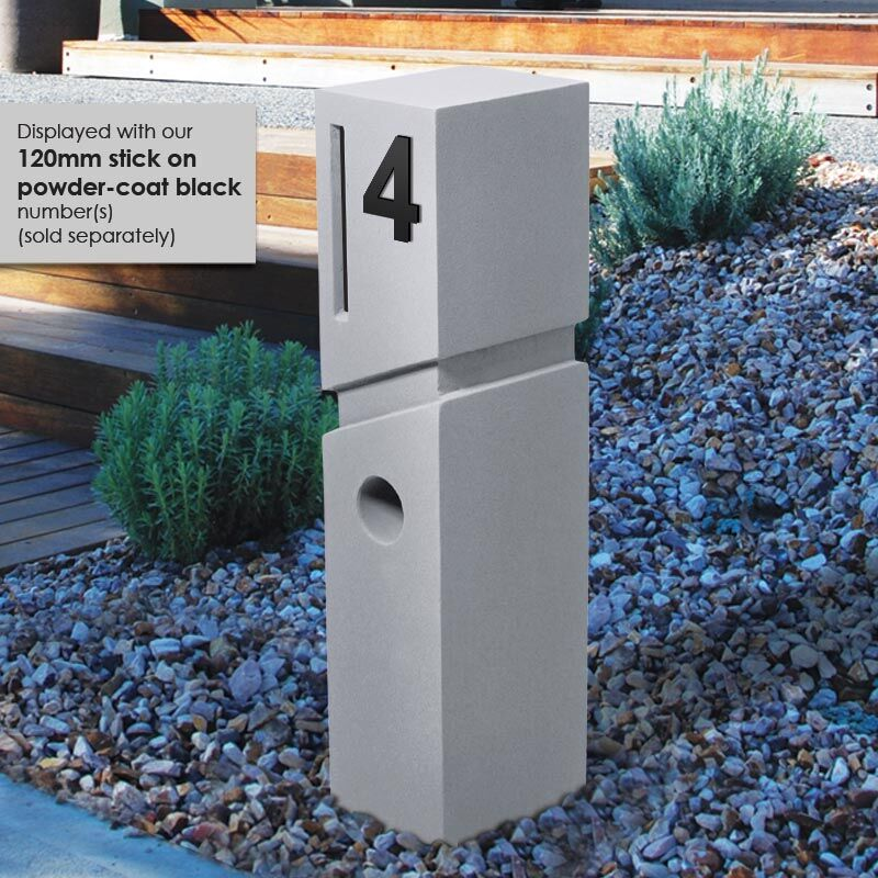 Milkcan-520-Spa-light-grey-concrete-pillar-letterbox-hs-800px