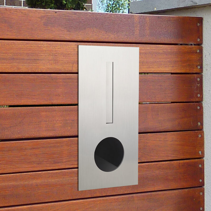Milkcan-2341STS-Hendon-fence-letterbox-stainless-black-hs-800px