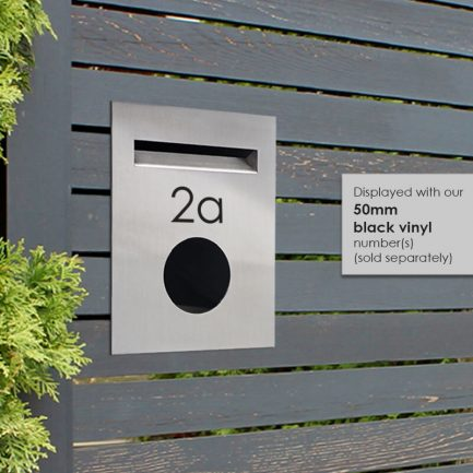 Milkcan-813STS-brick-fence-stainless-steel-charcoal-letterbox-hs-800px