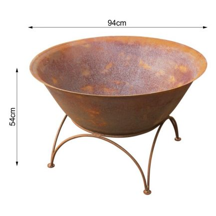 Milkcan-Arizona-90CR-Fire-pits-outdoor-rust-steel-planter-bowl-dims-800px