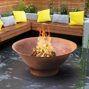 Dakota-90CR-Fire-pits-outdoor-rust-steel-planter-bowl-main-800px