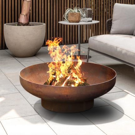 Milkcan-Phoenix-80-1CR-Fire-pits-outdoor-rust-steel-planter-bowl-main3-800px