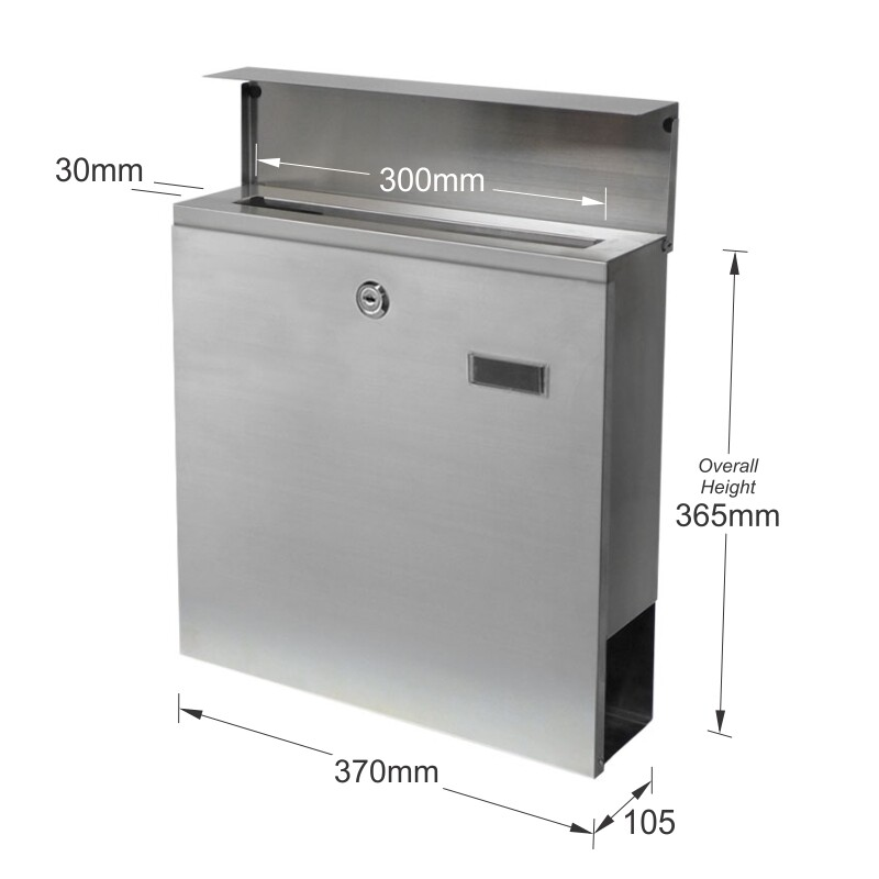 Milkcan-857STS-bristol-stainless-wall-letterbox-dims2-800px