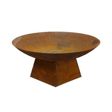 Milkcan-Marrakesh-80-1SR-Fire-pits-outdoor-rust-steel-planter-bowl-front-800px