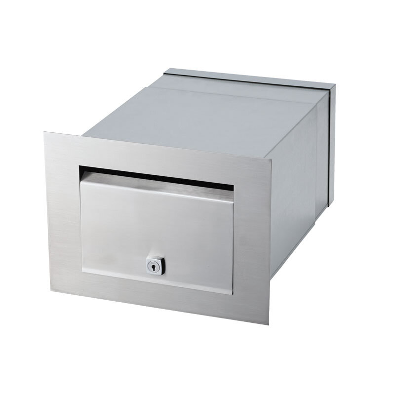 Milkcan-1861-STS-Palazzo-front-open-letterbox-stainless-steel-mailbox-main-800px