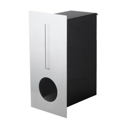 Milkcan-2341STS-Hendon-fence-letterbox-stainless-black-main-800px