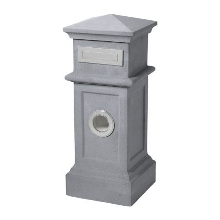 Milkcan-515-Villa-light-grey-concrete-pillar-letterbox-main-800px