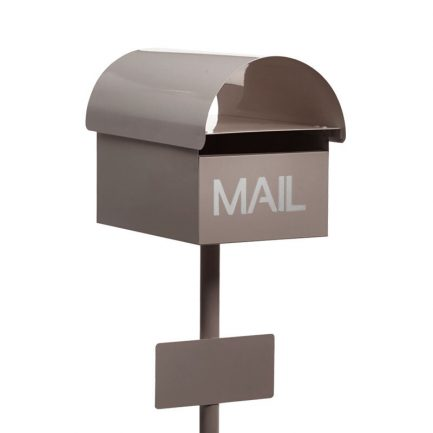 Milkcan-825-Urban-freestanding-box-post-letterbox-latte-main-600px