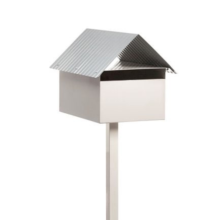 Milkcan-Economy-box-post-letterbox-galvanised-steel-freestanding-cream-main-800px