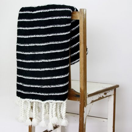 Milkcan-PTH27005-striped-throw-black-chair-800px