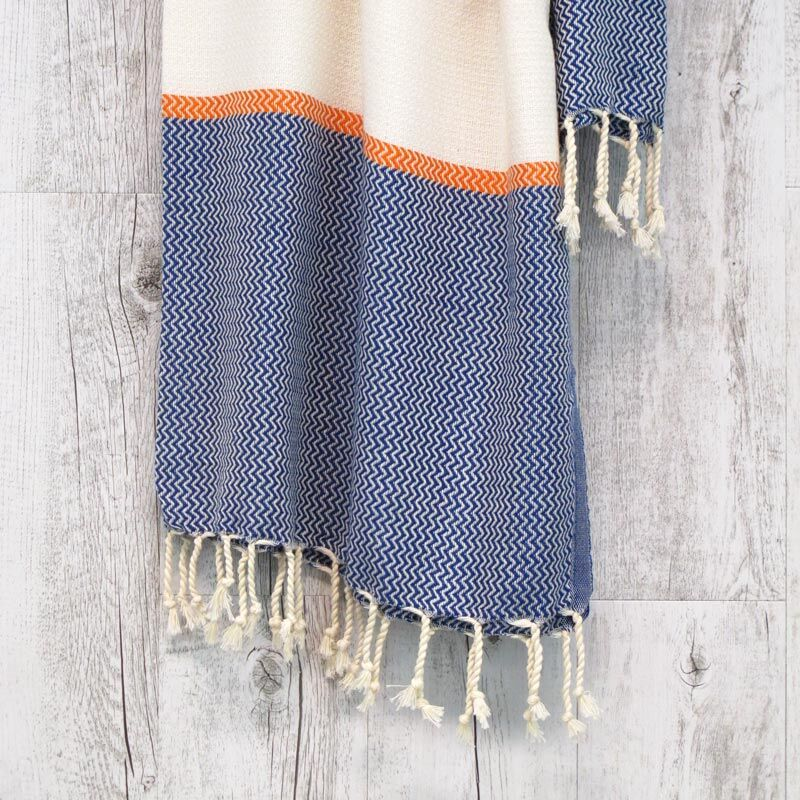 Milkcan-PTL22030-airlie-turkish-towel-orange-blue-close-800px