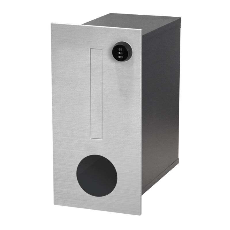 Milkcan-746-F1-B1-Amalfi-fence-parcel-letterbox-stainless-charcoal-main-800px