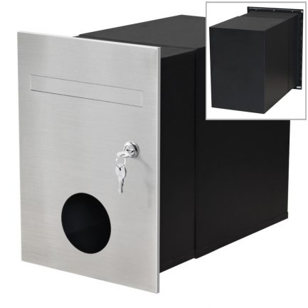 Milkcan-743-F2-B3-Monza-brick-letterbox-stainless-black-main2-800px