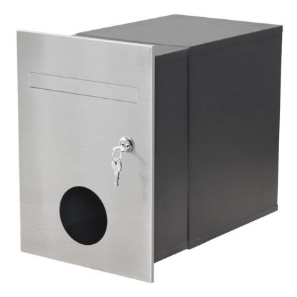 Milkcan-743-F2-B3-Monza-brick-letterbox-stainless-charcoal-main-800px