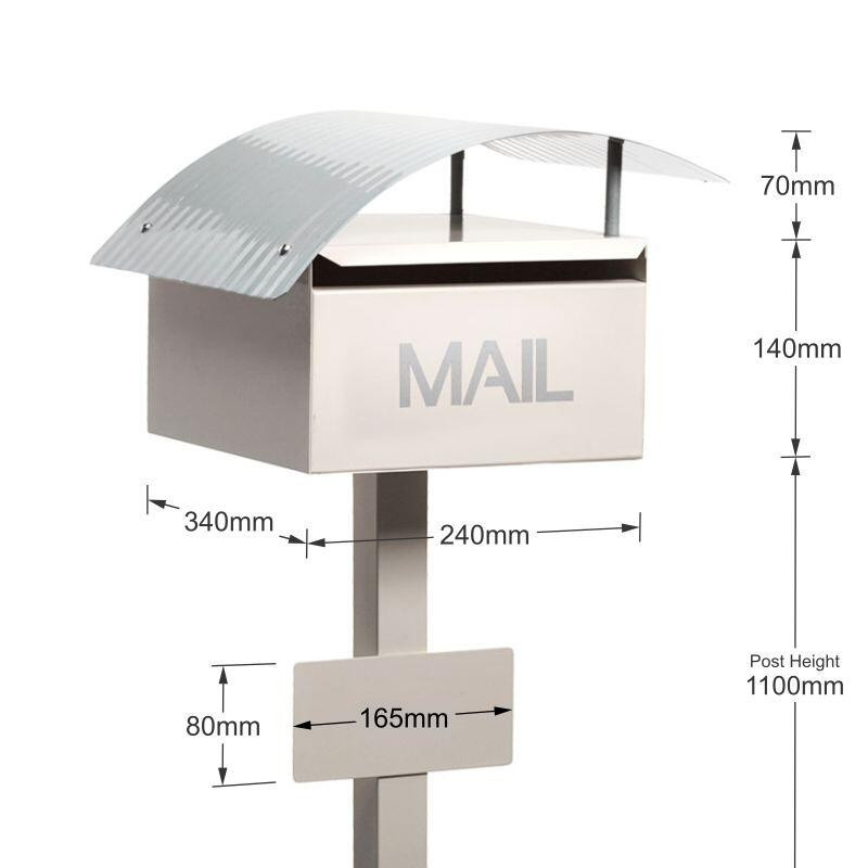 Milkcan-895LCR-Canyon-freestanding-box-post-letterbox-mail-dims-800px