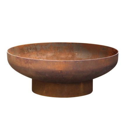 Milkcan-Phoenix-70-Fire-pits-outdoor-rust-steel-planter-bowl-front-800px