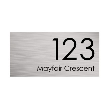 Milkcan-316-stainless-steel-custom-address-sign-large-front-800px