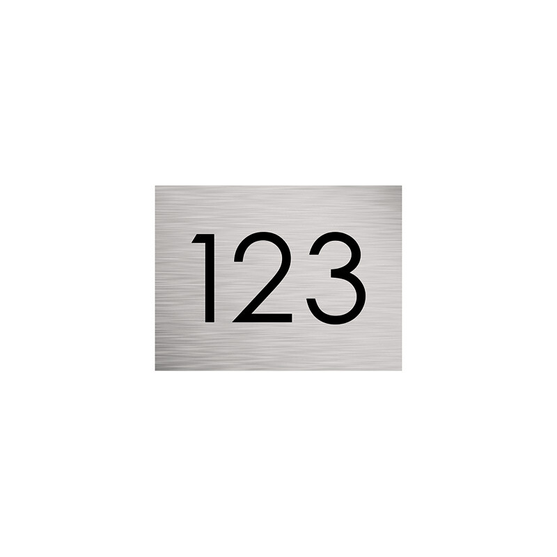 Milkcan-316-stainless-steel-custom-address-sign-small-front-800px