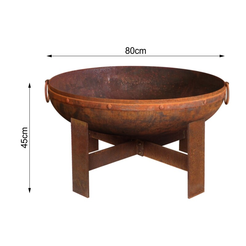 Milkcan-F818RST-Gibson-80-fire-pit-rust-bowl-dims-800px