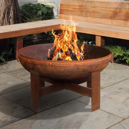 Milkcan-F818RST-Gibson-80-fire-pit-rust-bowl-main-800px