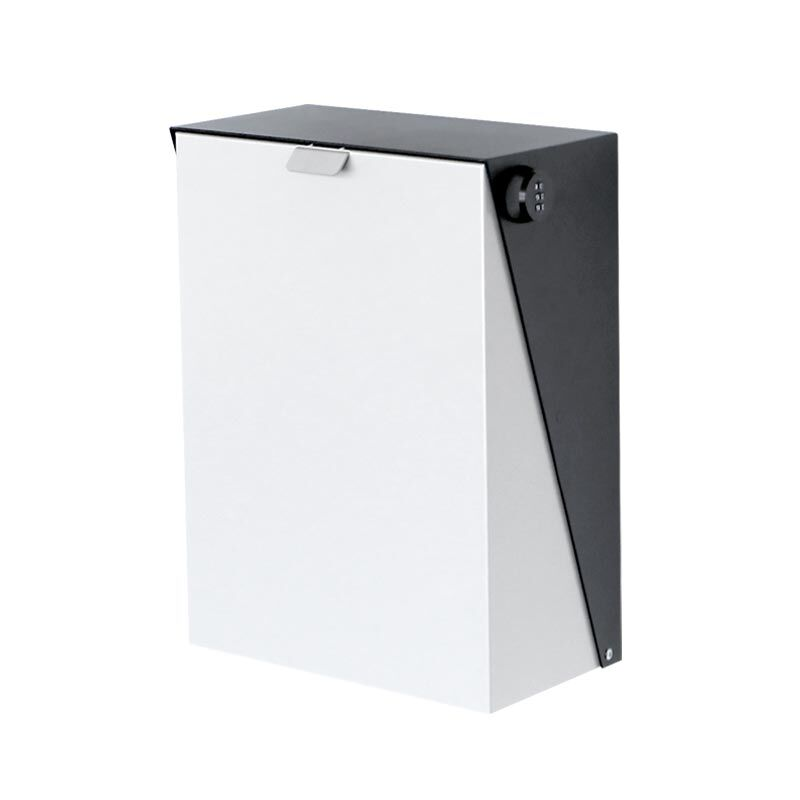 Milkcan-727CH-WH-York-charcoal-white-wall-parcel-letterbox-main-800px
